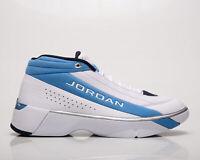 Jordan Team Showcase UNC Men's White Blue Athletic Lifestyle Sneakers Shoes