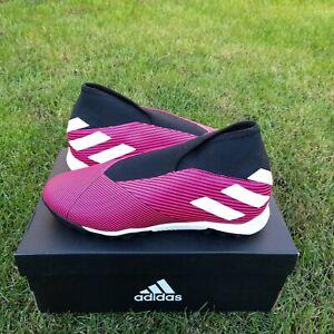 NEW! Adult  Adidas Nemeziz 19.3 Laceless Turf Boots - Sizes 6.5 & 9.5 UK