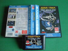 SEGA MEGADRIVE STAR TREK Deep Space Nine Crossroads of Time Boîte Pal