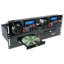 """Numark CDN77USB Pro DJ Dual Twin 2 x CD Player + 2x USB + MP3 19"""" Rack CDN77"""