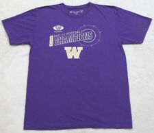 XL Washington Huskies Pac 12 Football Champions Purple T-shirt Short Sleeve Top