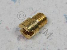NEW K&L MIKUNI CARBURETOR N102/221 SMALL ROUND MAIN JET #115 M-18-4722
