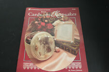 Vtg 1993 From Cards to Keepsakes Instruction Book Wedding Baby
