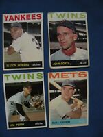 1964 Topps check available list in description #34-360 $1 each baseball $1 S&H