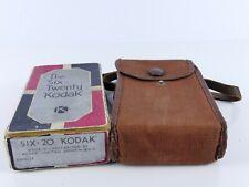 GENUINE ART DECO KODAK SIX TWENTY EMPTY BOX AND CASE W