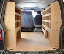 VW T5 & T6 Transporter Van Racking Shelving Tool Storage Package - WRK37.39.39