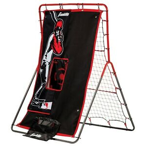 """Sports Baeball Pitching Target And Rebounder Net 2 in 1 Switch """"55 x 36 inch"""""""