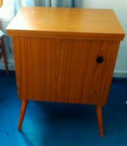 Sewing machine table/cabinet, wood effect