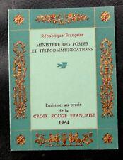 TIMBRES DE FRANCE : 1964 CARNET CROIX-ROUGE YVERT N° 2013** NEUF SANS CHARNIERE