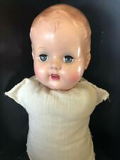 Vintage Doll Plastic Head Sleep Eyes