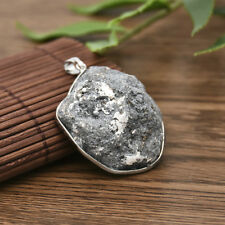 Natura Geode Druzy Stone For Necklace Crystal Quartz Pendant Natural Gemstone
