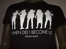 New Juniors XL Orphan Black When Did I Become Us? Clone TV Series Show Tee Shirt