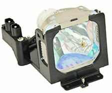 REPLACEMENT LAMP & HOUSING FOR EIKI LC-XB30 (XB2500 LAMP)