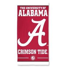 Alabama Crimson Tide Authentic 30x60 Fiber Reactive Beach Towel NCAA GTC