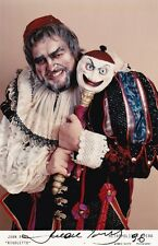 JUAN PONS opera baritone signed photo as Rigoletto at the MET