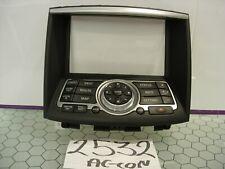 08 - 12 EX35 Center Dash Navigation Radio Control Panel Used Stock #2532-AC