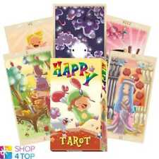 HAPPY TAROT DECK CARDS FICCA ESOTERIC FORTUNE TELLING LO SCARABEO NEW