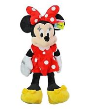 "Disney Red Minnie Mouse Large Stuffed Animal 25"" inches Plush Soft Doll New tag"