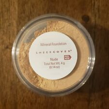 Sheer Cover NUDE Mineral FOUNDATION ~ Full Size 4 g ~ New & Sealed!