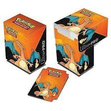 Ultra Pro Pokemon TCG Charizard Deck Box Card Storage/Holder With Divider