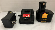 Ryobi 1411135 12V Battery Charger And Ni-Cd 12V Battery 1311148 Combo