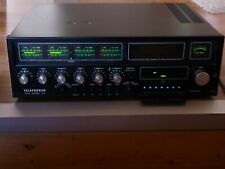 "Telefunken TRX-2000 Ampli tuner Receiver - ""fonctionne mais à restaurer """