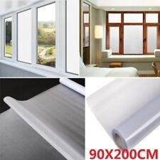 Statische Fensterfolie Sichtschutzfolie Milchglasfolie Dekofolie Selbstklebend