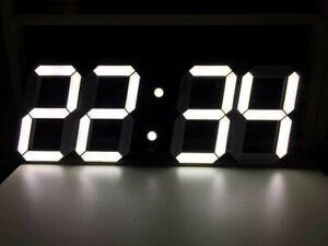 Big large LED Digital Clock !!GIANT !!HUGE!! 45 (W) 18.5(H) With Alarm NOT DESK