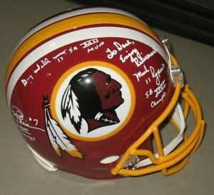 1992 Washington Redskins Super Bowl MVP Mark Rypien Autographed Football Helmet