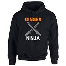 Ginger Ninja Pride Hoodie Festival March Ladies Mens Orange Red Head Hooded Top