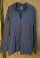 Adidas ClimaLite Golf Men's 1/4 Zip Pullover Shirt Jacket 2XL