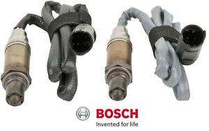 2 Oxygen O2 Sensors BOSCH Downstream Replace BMW OEM # 11787514926/927 Cyl. 1-6