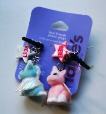 Claire's Phone Plug Best Friends Charms 3.5mm jack new two unicorns