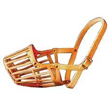 New listing Jorgensen Buster Nylon Basket Muzzle, Tan, #8