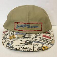 Looney Tunes Cartoon SnapBack Cap Hat Bugs Bunny Road Runner - Made In USA