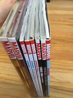Avengers HC TPB Lot of 8 Marvel Comics Sealed Remainder Mark