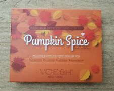 Voesh Pumpkin Spice Pedi In A Box Deluxe 2 Complete 4 Step Pedicure Kit Exp 6/22