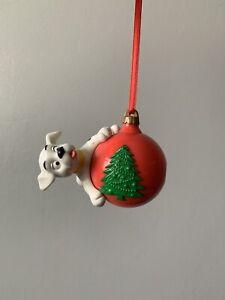 Disney Christmas 101 Dalmatians Decoration Tree Ornament Figure Lot Baubles