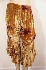 MAGNOLIA PEARL - GOLDEN VELVET BLOOMER PANTS excellent condition