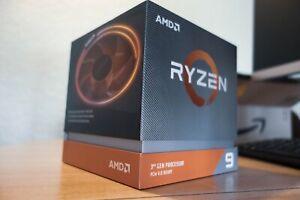 Processeur AMD RYZEN 9 3900x 12C/24T 3.8 GHZ (4.6 GHZ Boost) en très bon état