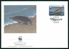 TÜRKMENISTAN FDC FAUNA ROBBE CASPIAN SEAL KASPI-RINGELROBBE PHOCA PHOQUE dz06
