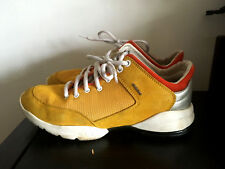 LADIES GEOX SFINGE TRAINERS SHOES SIZE 3 (36) YELLOW