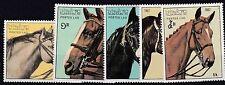 LAOS 1987  HORSES PART SET MNH    E632