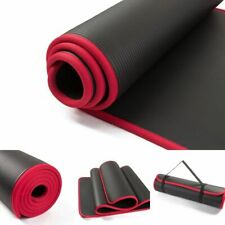 Fitness Mat Yoga Pad Exercise Extra Thick Non Slip Floor Gymnastics Gym Rug New