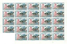 Guinea 1961 Scott# C28 United Nations - Sheet of 24 Stamps - Inverted OVPT - MNH