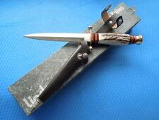 Vintage LINDER Premium dagger - HIRSCHFÄNGER from 80/90th Solingen GERMANY