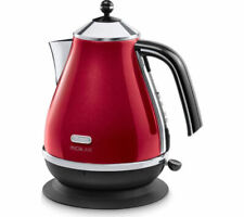 DELONGHI Micalite KBOM3001R Jug Kettle - Red - Currys