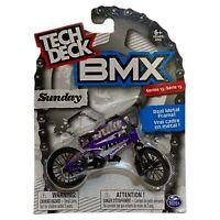 Tech Deck BMX Metal Finger Bike Sunday Purple Series 13 Brand New Boxed Sealed