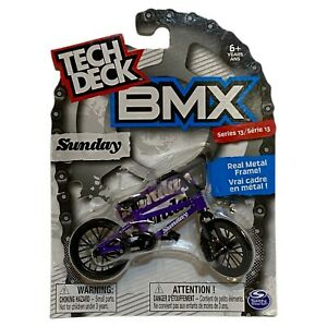 Tech Deck BMX Metal Finger Bike Sunday Purple Series 13 Brand New Boxed Sealed