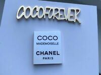 CHANEL pin brooch badge coco forever coco mademoiselle set 2x LE 2018 VIP GIFT